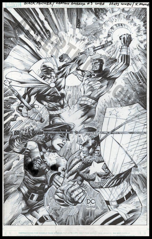 Flags of Our Fathers #3 - Cover - Pencils & Inks