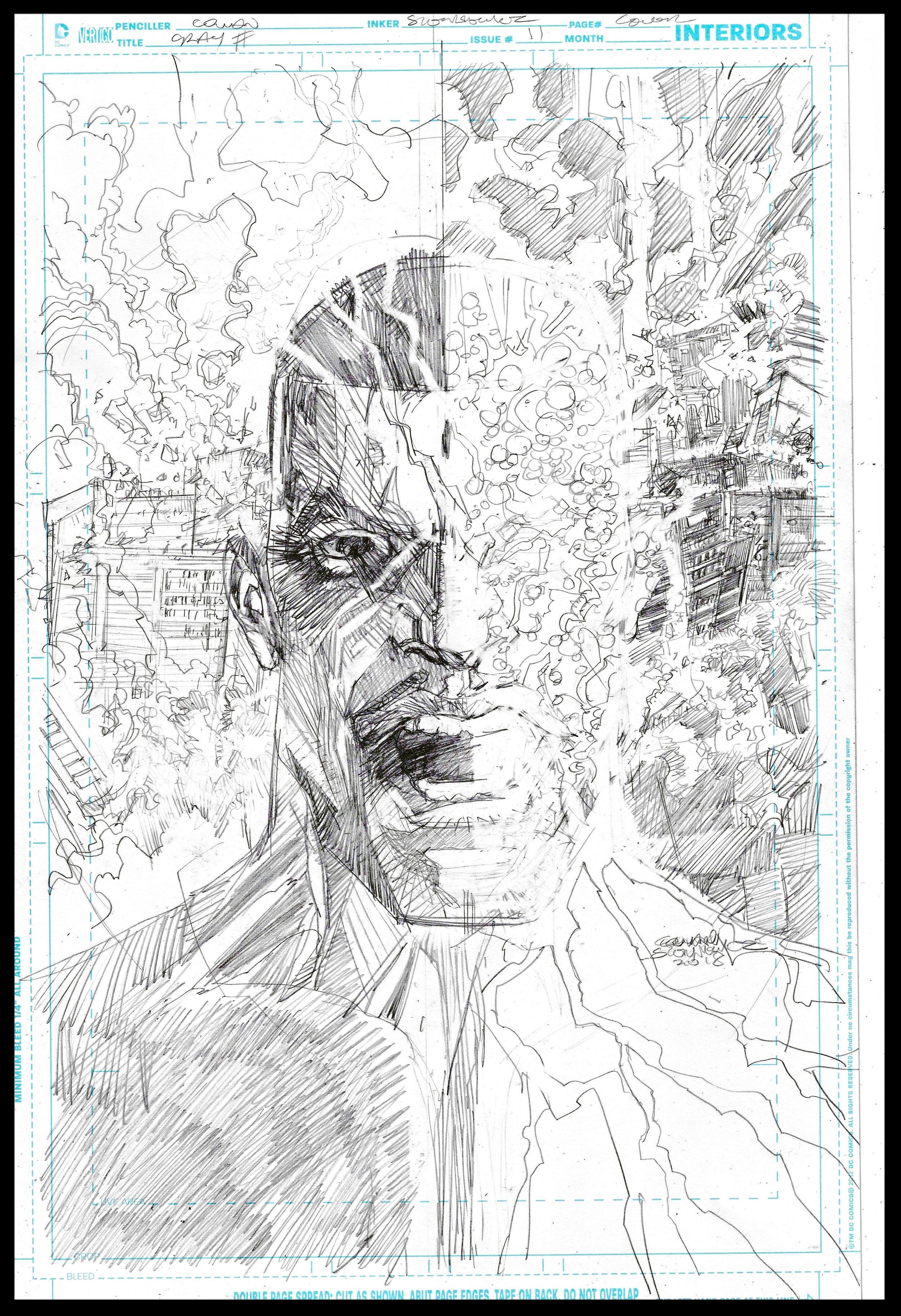 Michael Cray #11 - Cover - Pencils