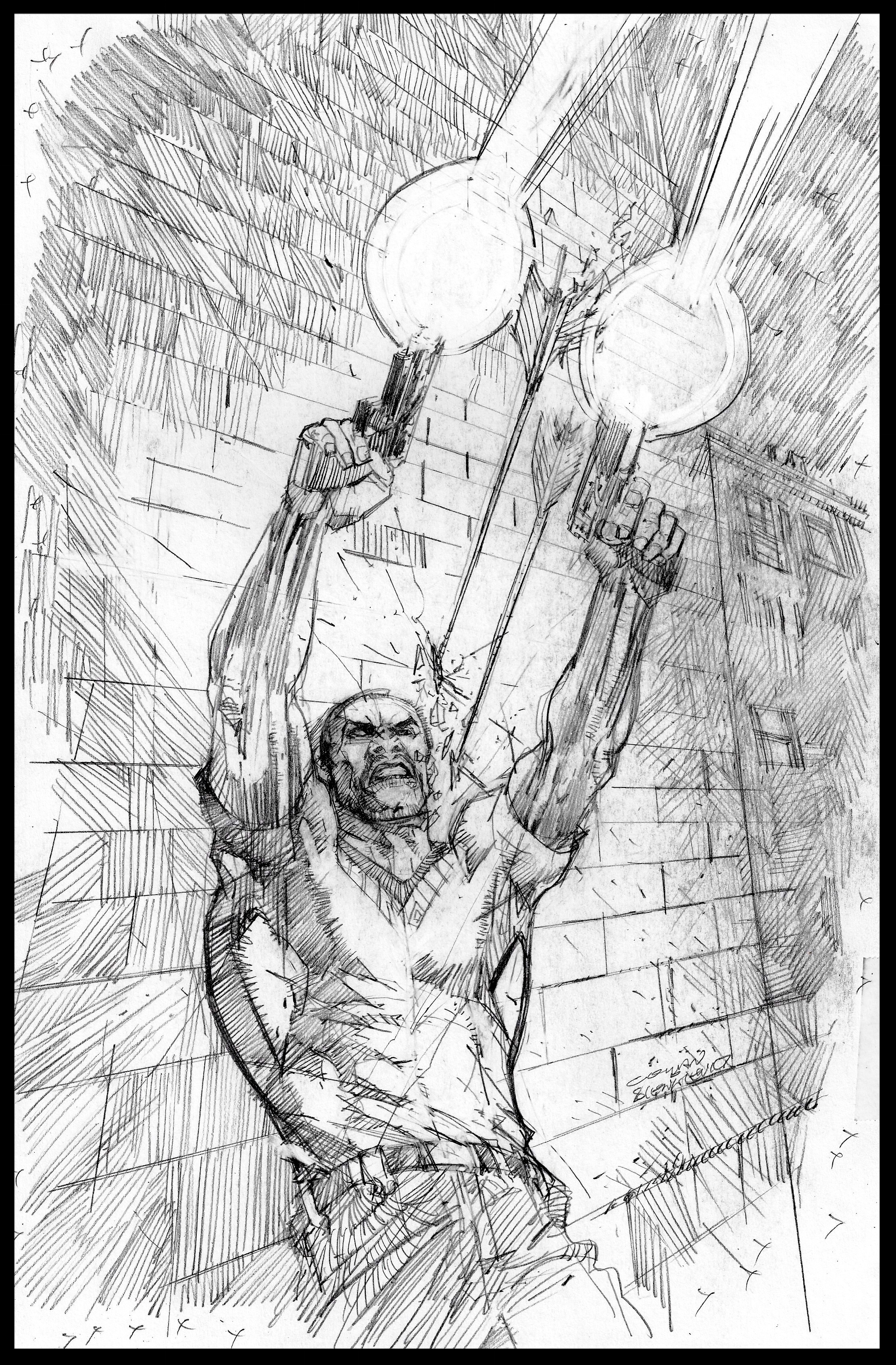 Michael Cray #2 - Cover - Pencils