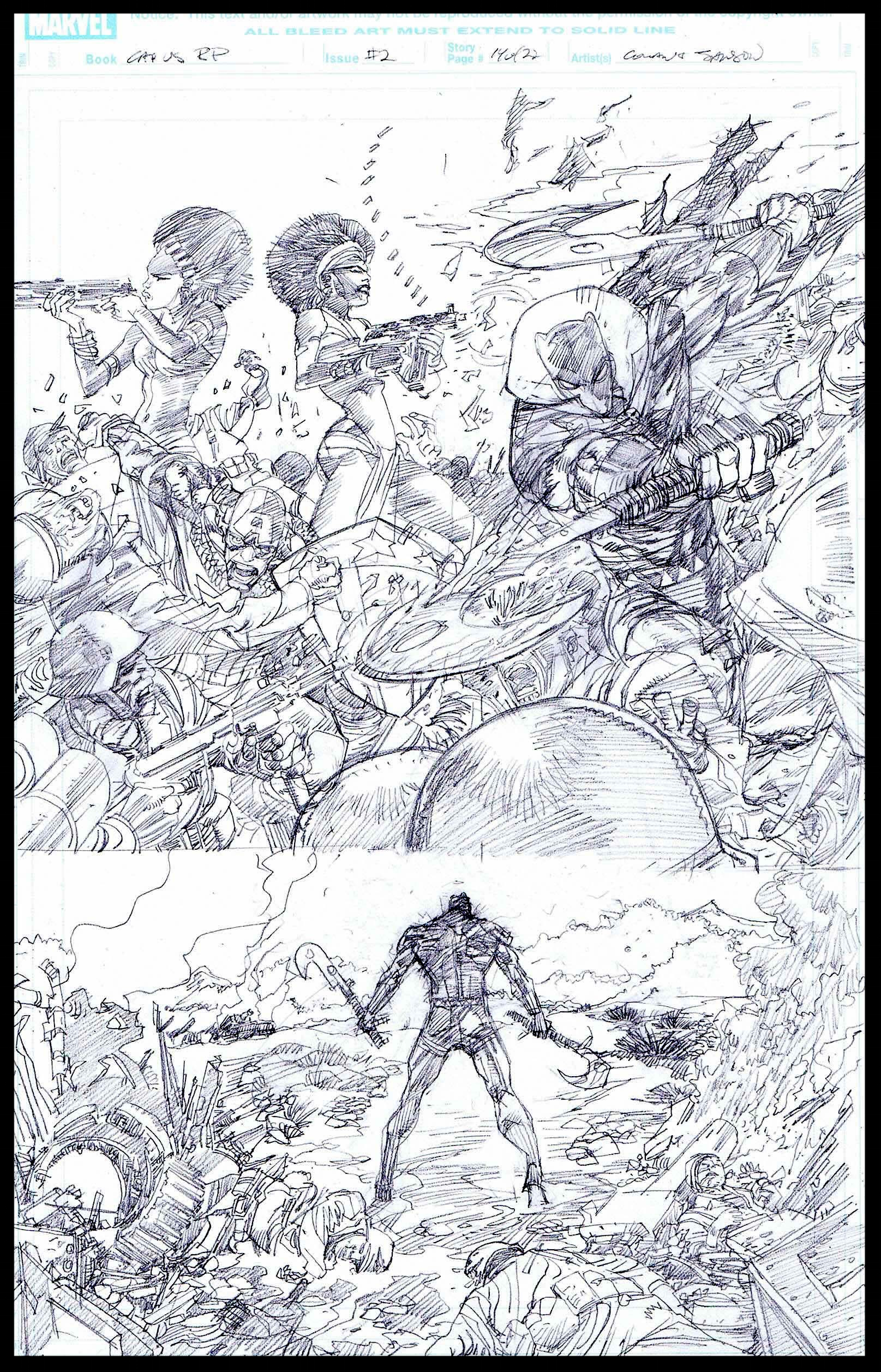 Flags of Our Fathers #2 - Page 14 - Pencils