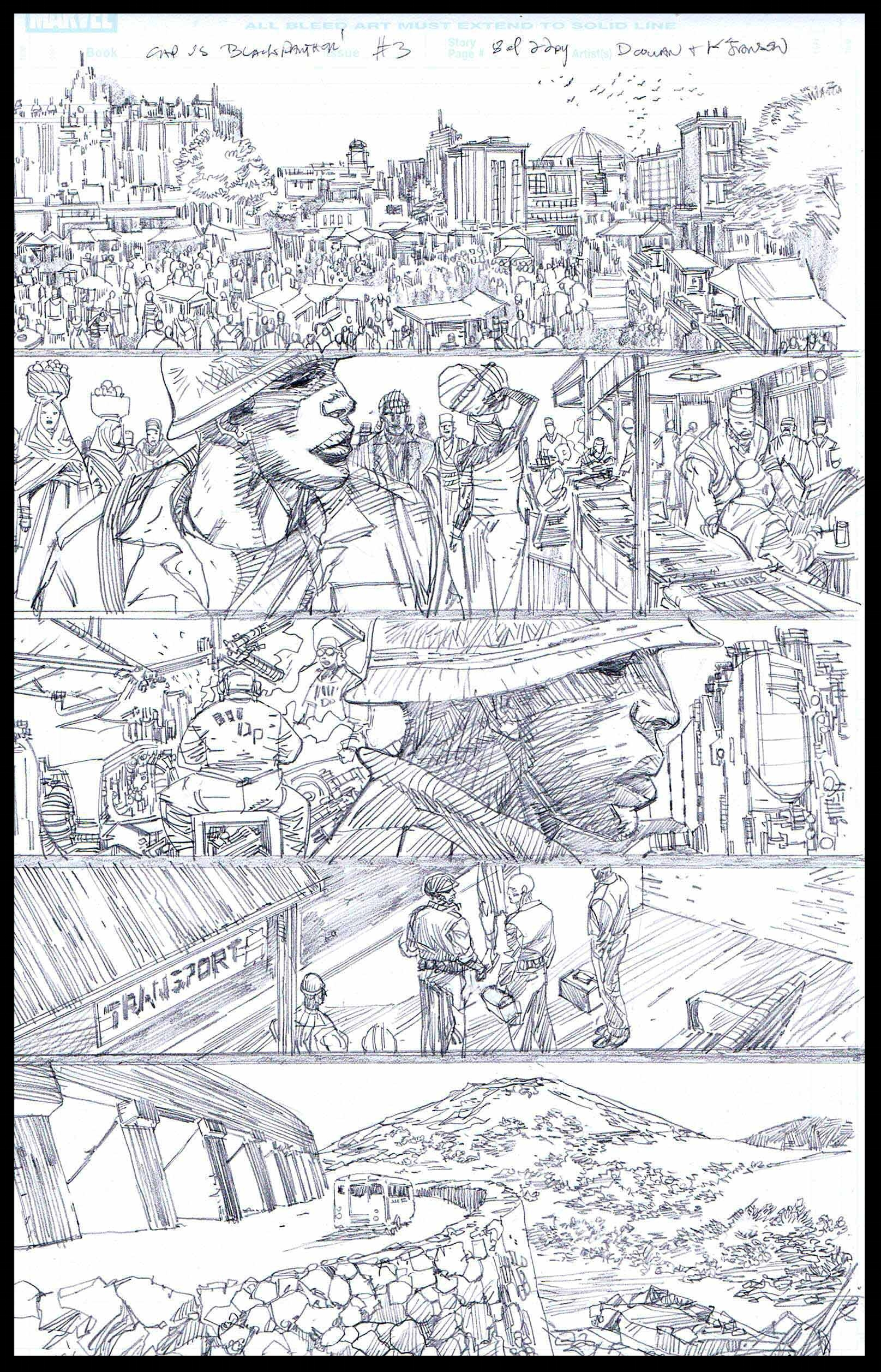 Flags of Our Fathers #3 - Page 8 - Pencils