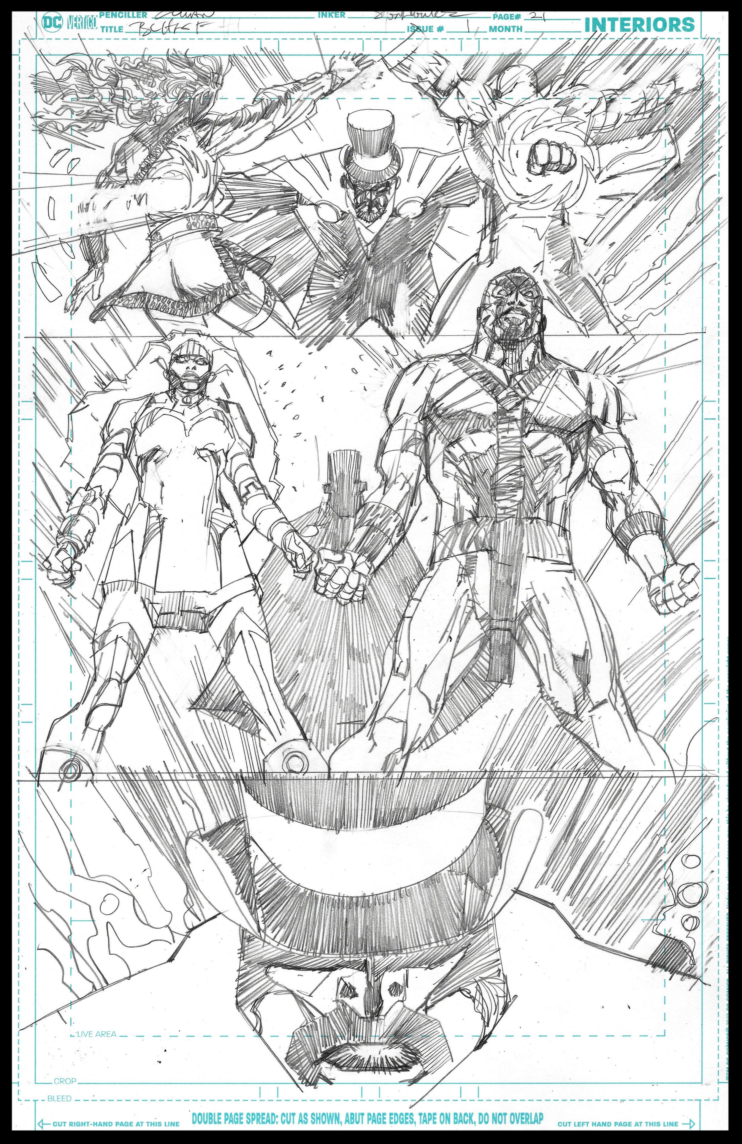 Black Lightning-Hong Kong Phooey #1 - Page 21 - Pencils