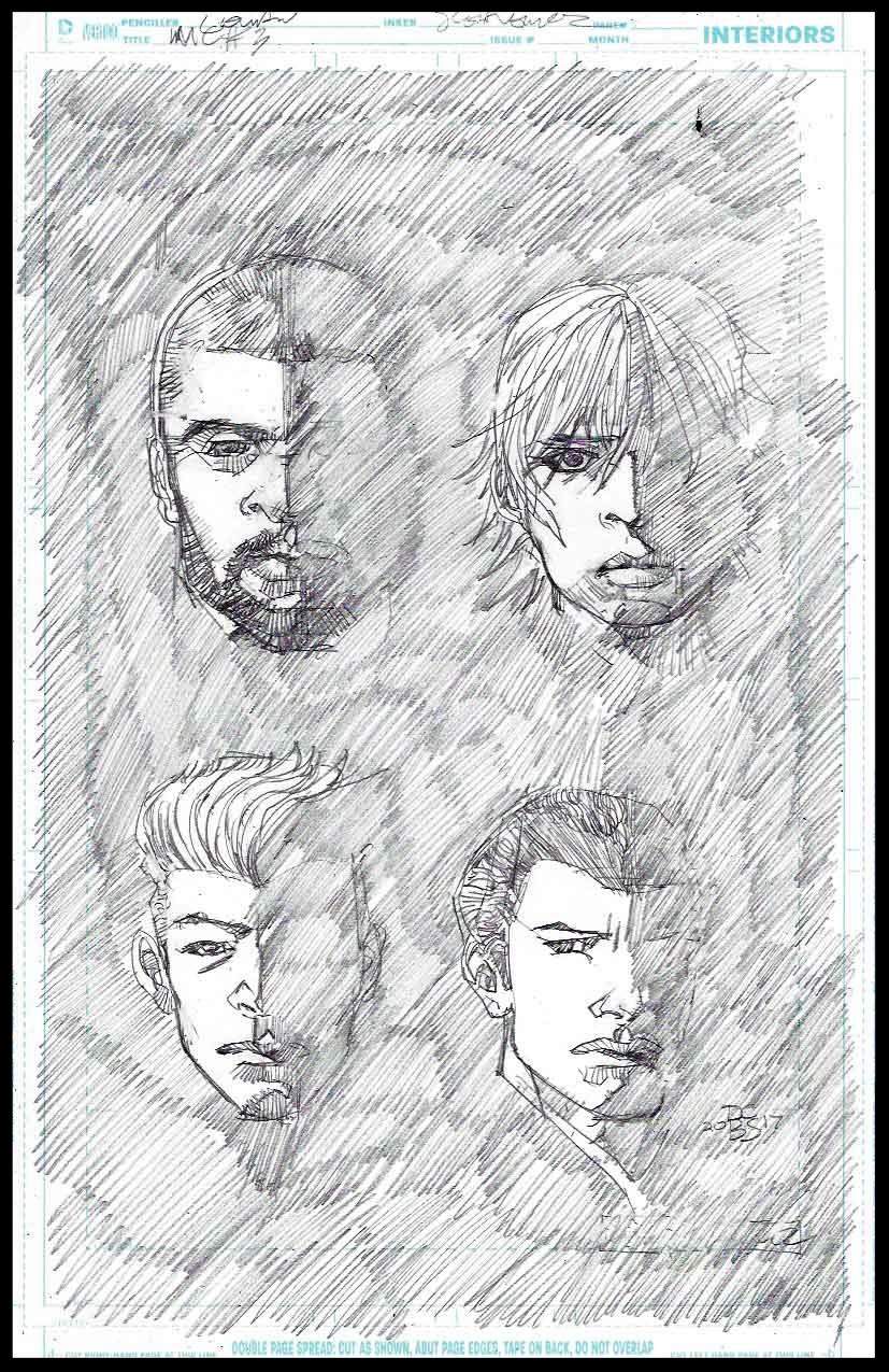 Michael Cray #3 - Cover - Pencils