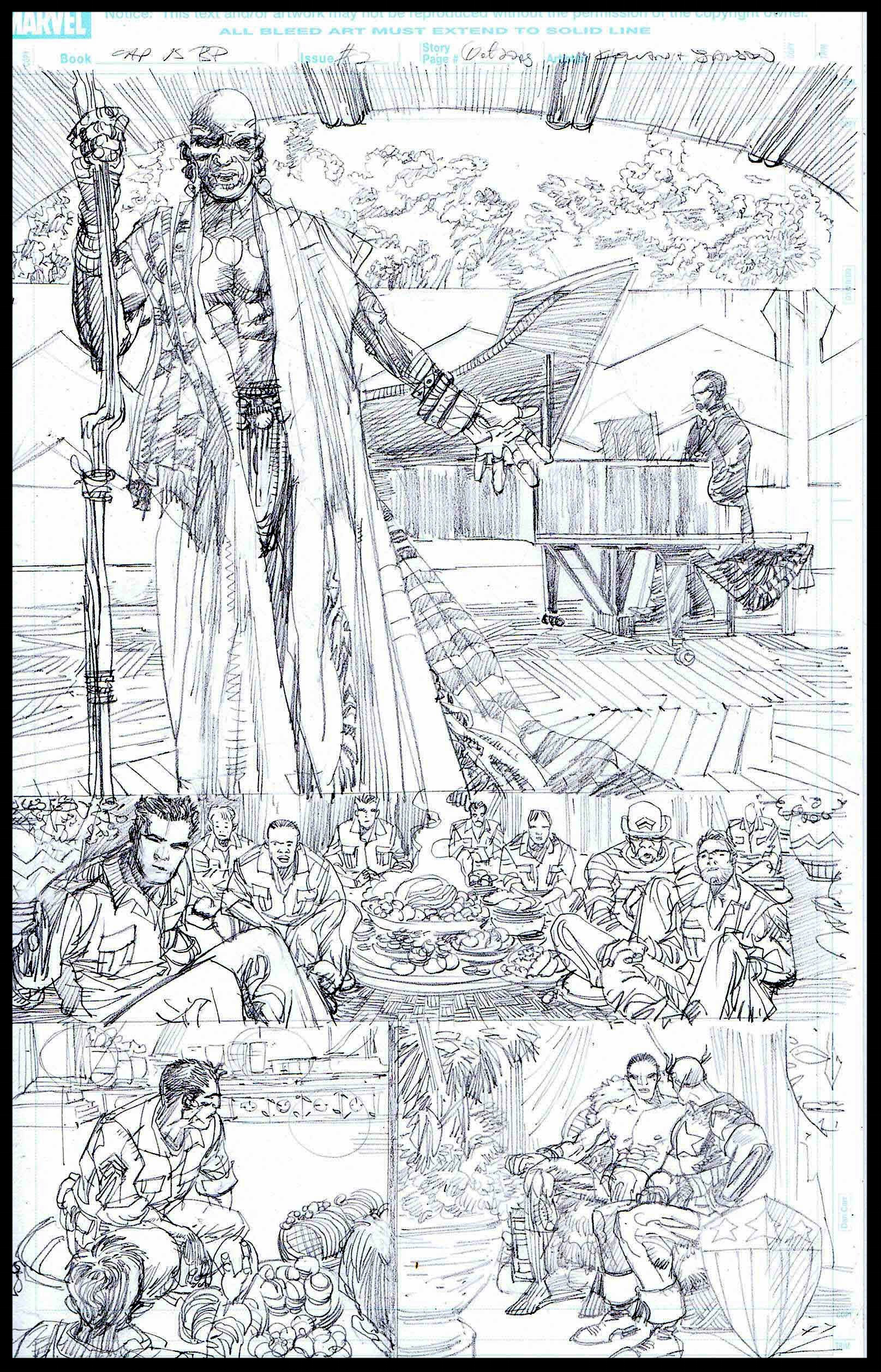 Flags of Our Fathers #2 - Page 1 - Pencils