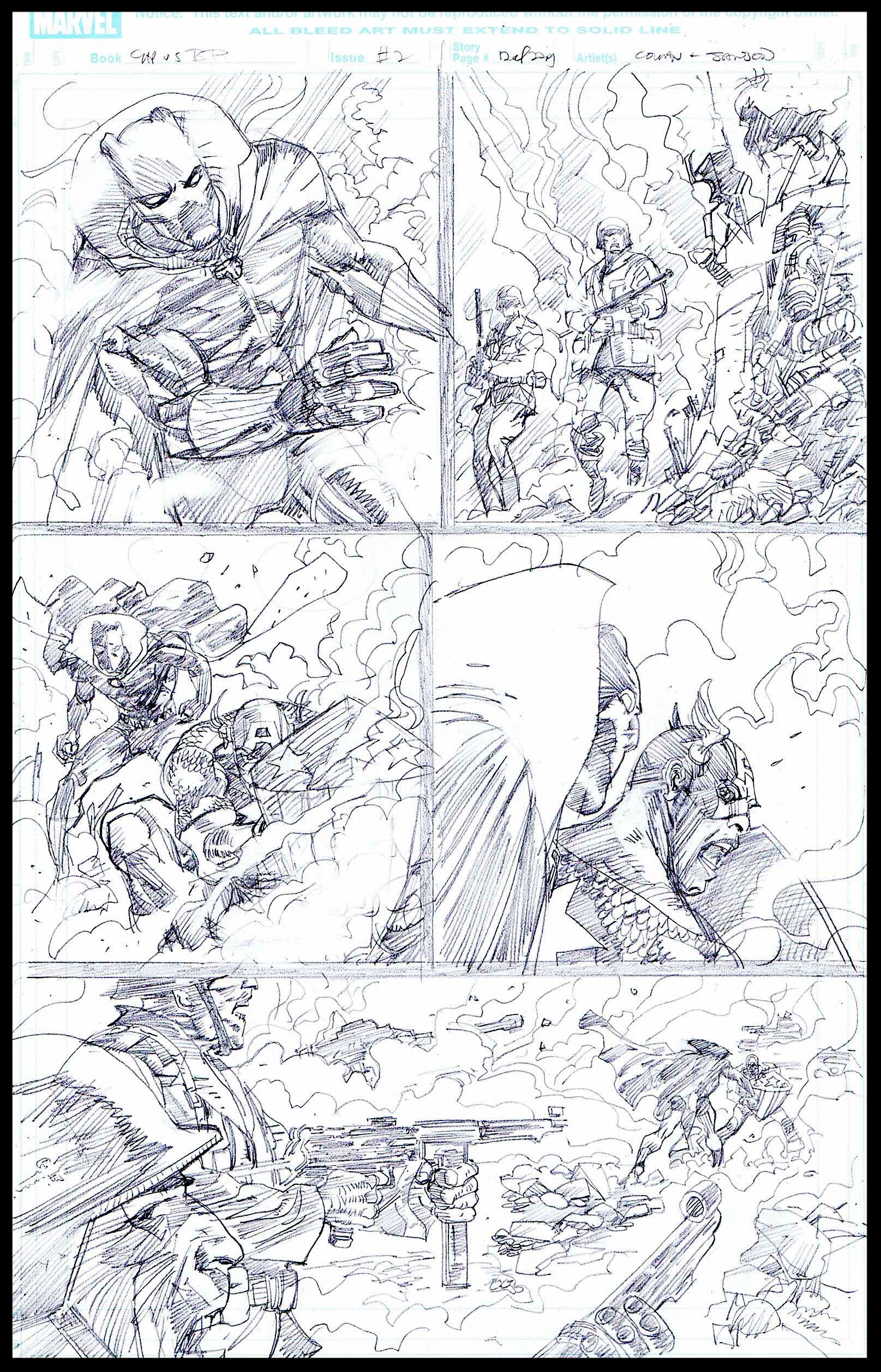 Flags of Our Fathers #2 - Page 12 - Pencils