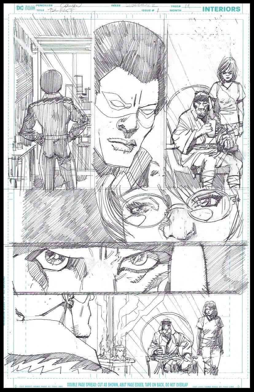 Black Lightning-Hong Kong Phooey #1 - Page 19 - Pencils