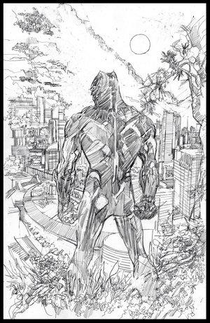 Black Panther - Mondo Poster - Pencils