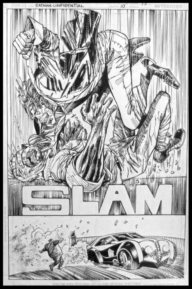 Batman Confidential #10 - Page 13 - Pencils & Inks