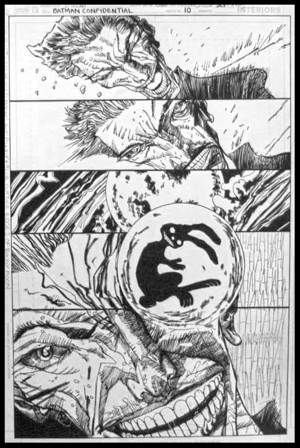 Batman Confidential #10 - Page 21 - Pencils & Inks