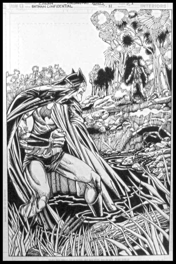 Batman Confidential #11 - Page 1 - Pencils & Inks