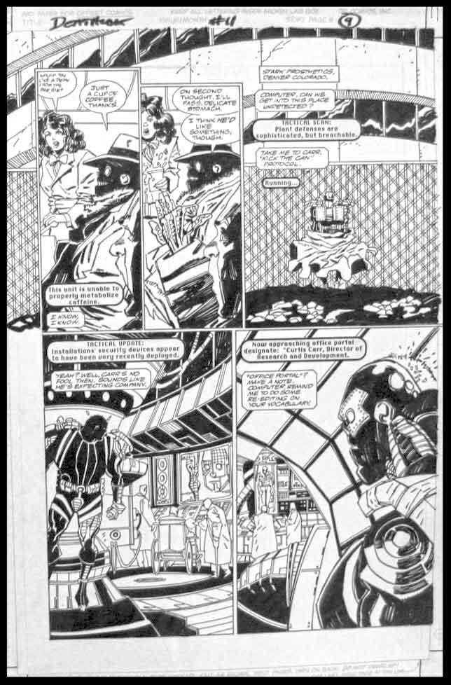 Deathlok #11 - Page 9 - Pencils & Inks