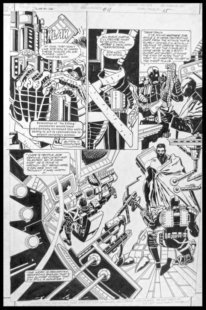 Deathlok #11 - Page 15 - Pencils & Inks