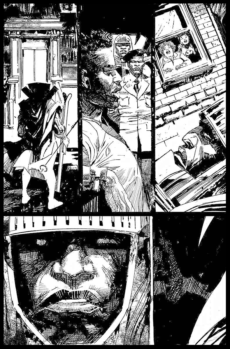 Black Racer #1 - Page 15 - Pencils & Inks