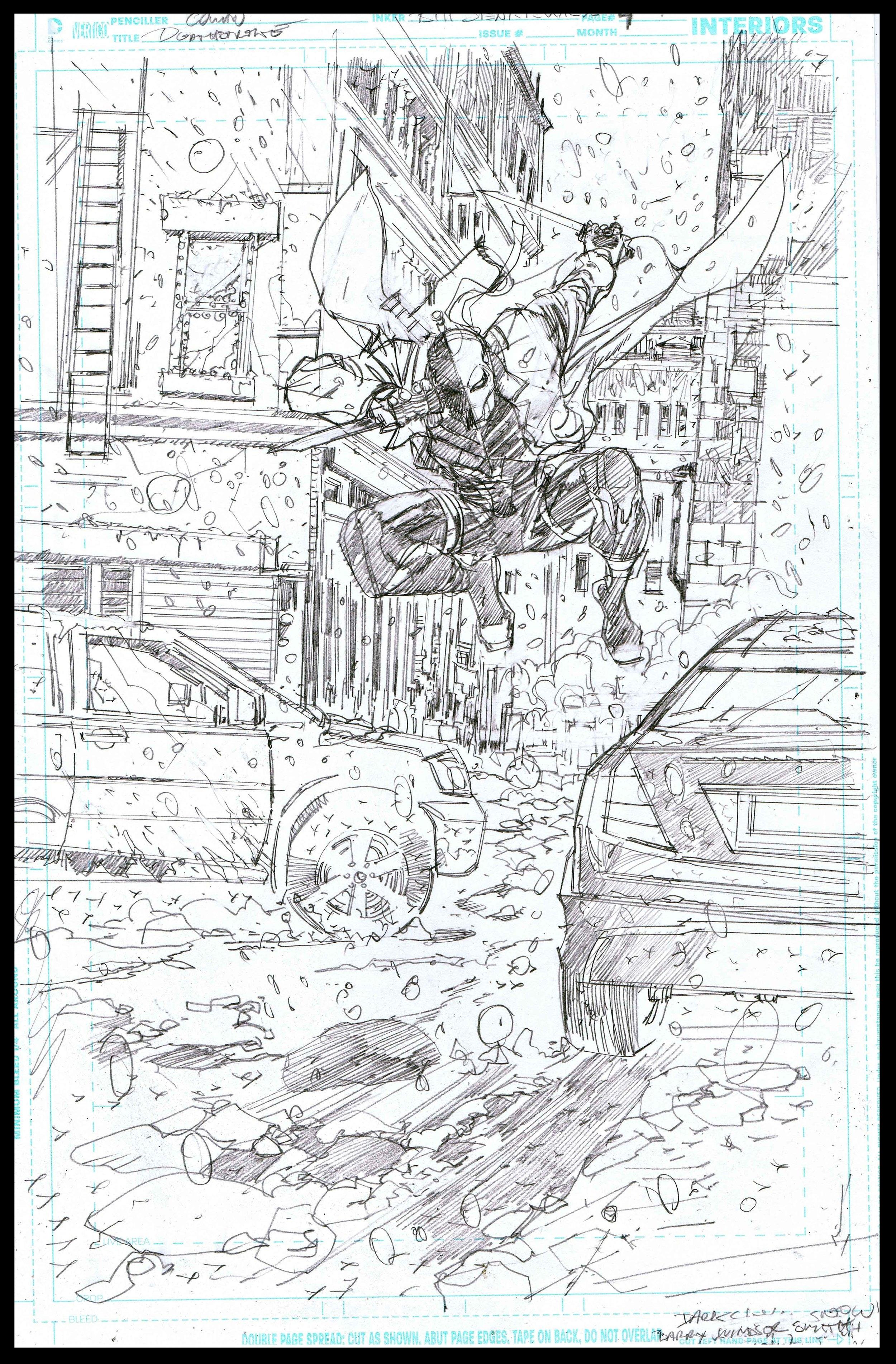 Deathstroke #11 - Page 4 - Pencils