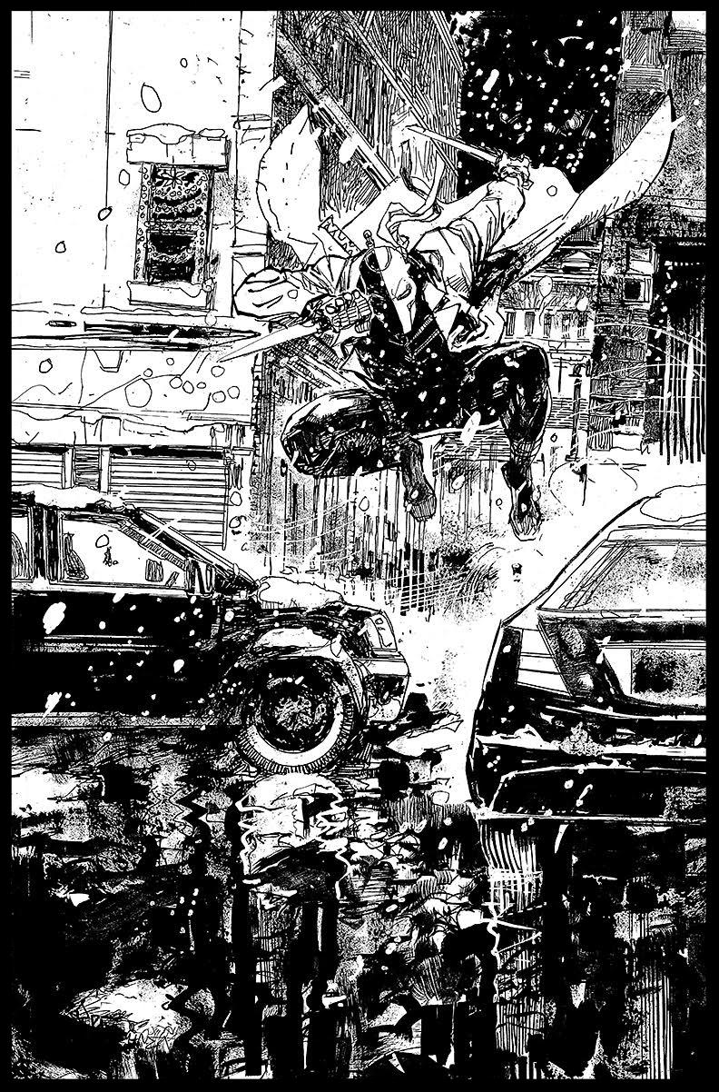 Deathstroke #11 - Page 4 - Pencils & Inks