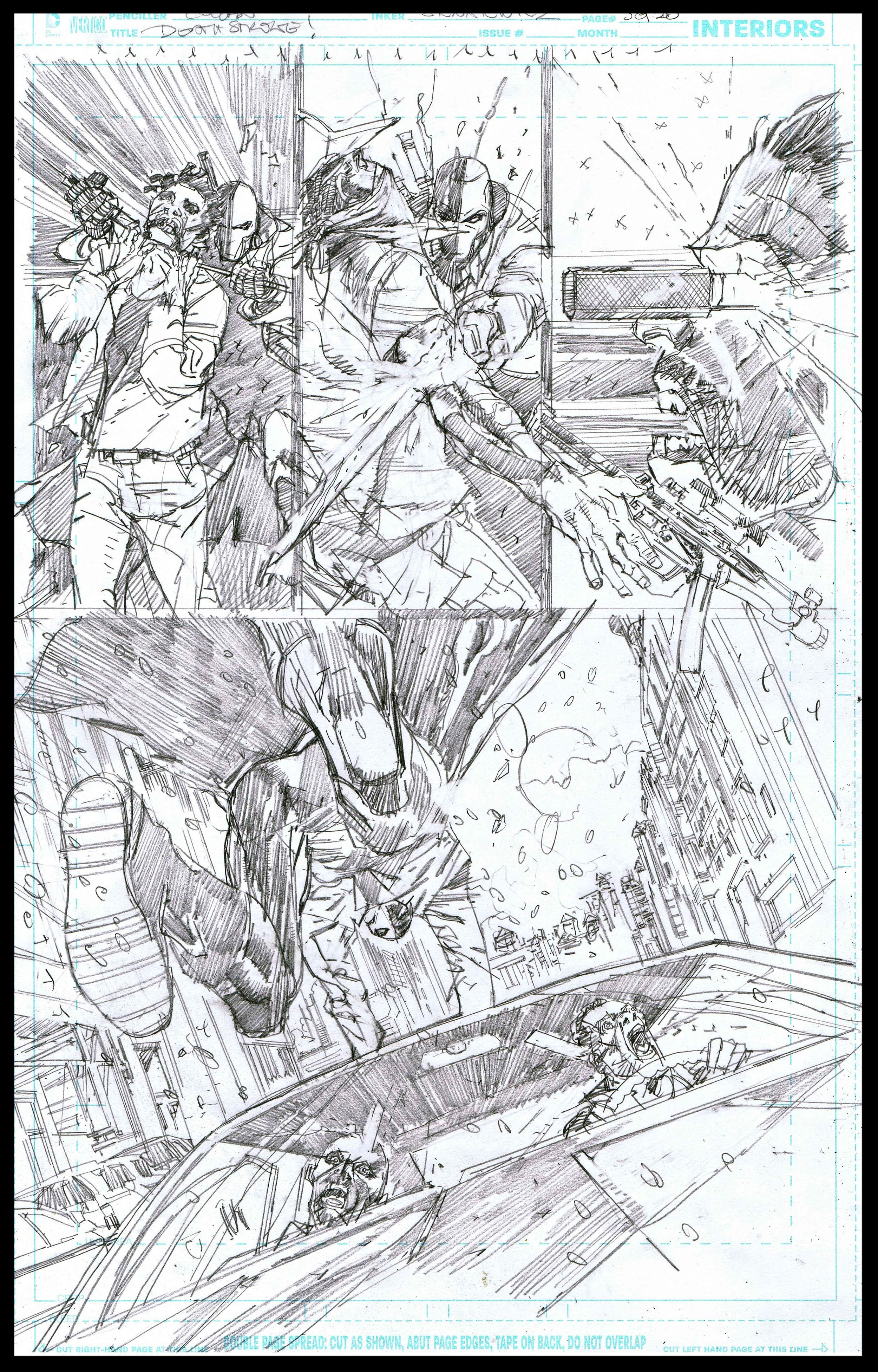 Deathstroke #11 - Page 5 - Pencils