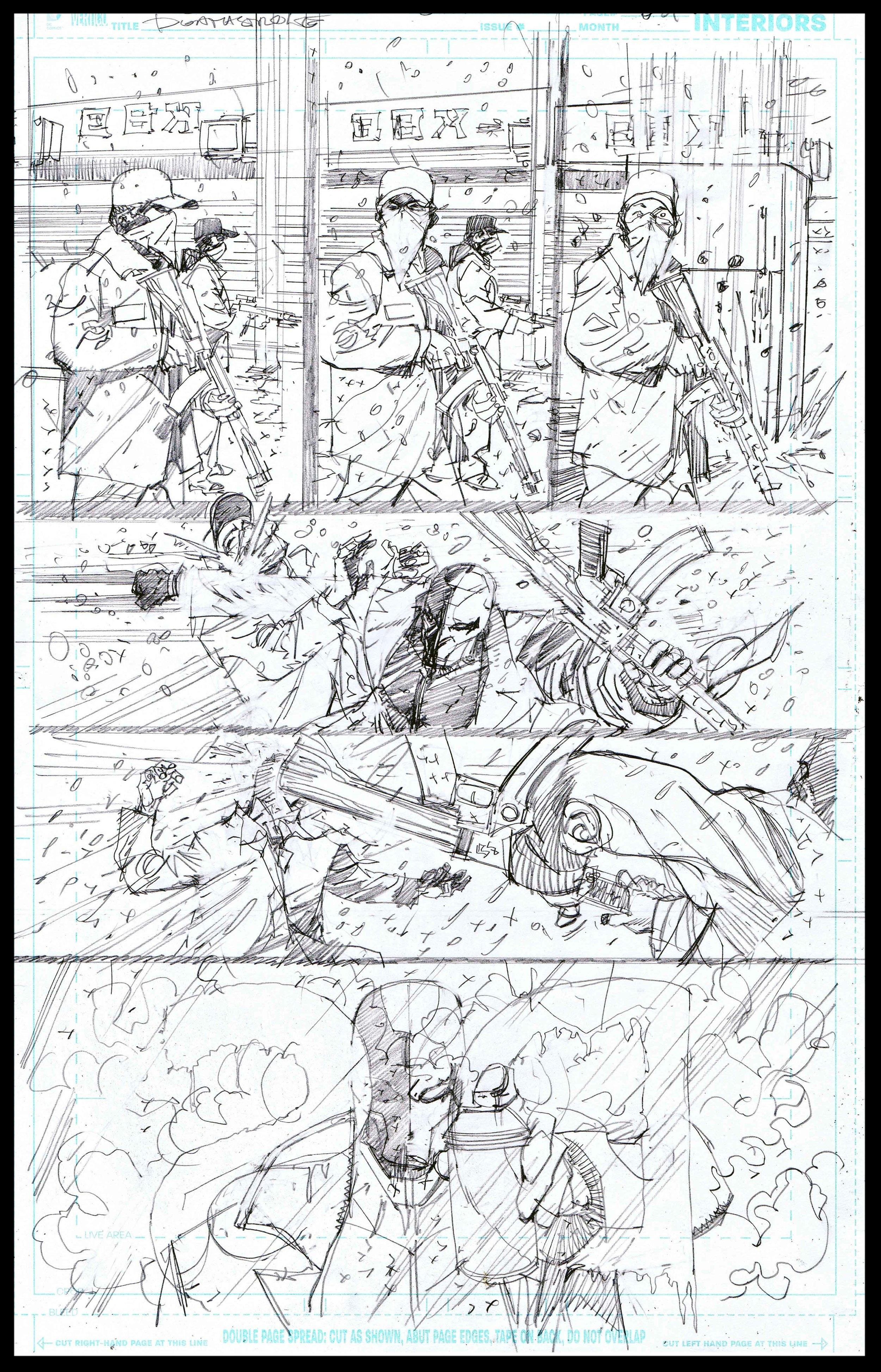 Deathstroke #11 - Page 8 - Pencils