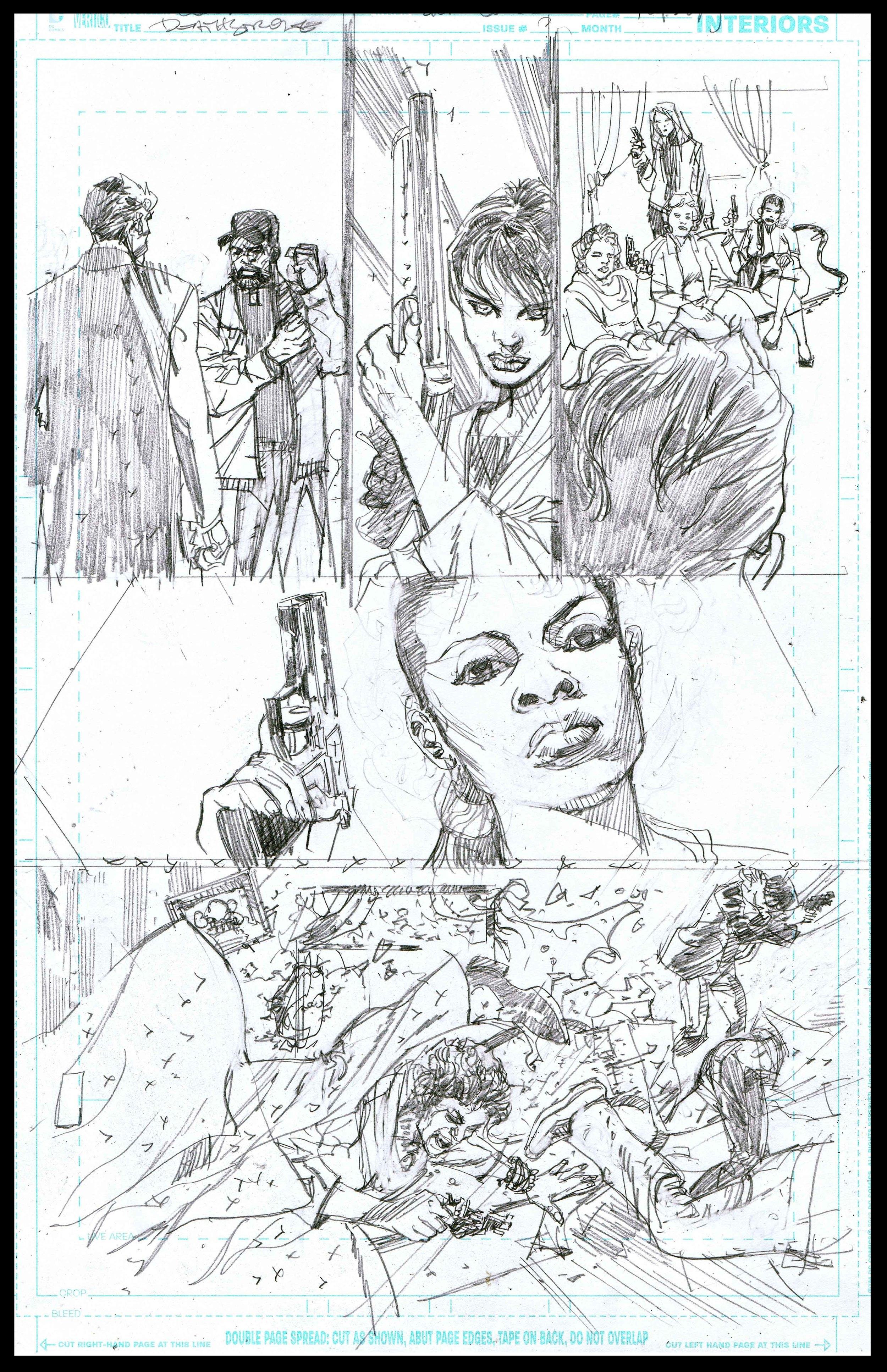 Deathstroke #11 - Page 9 - Pencils