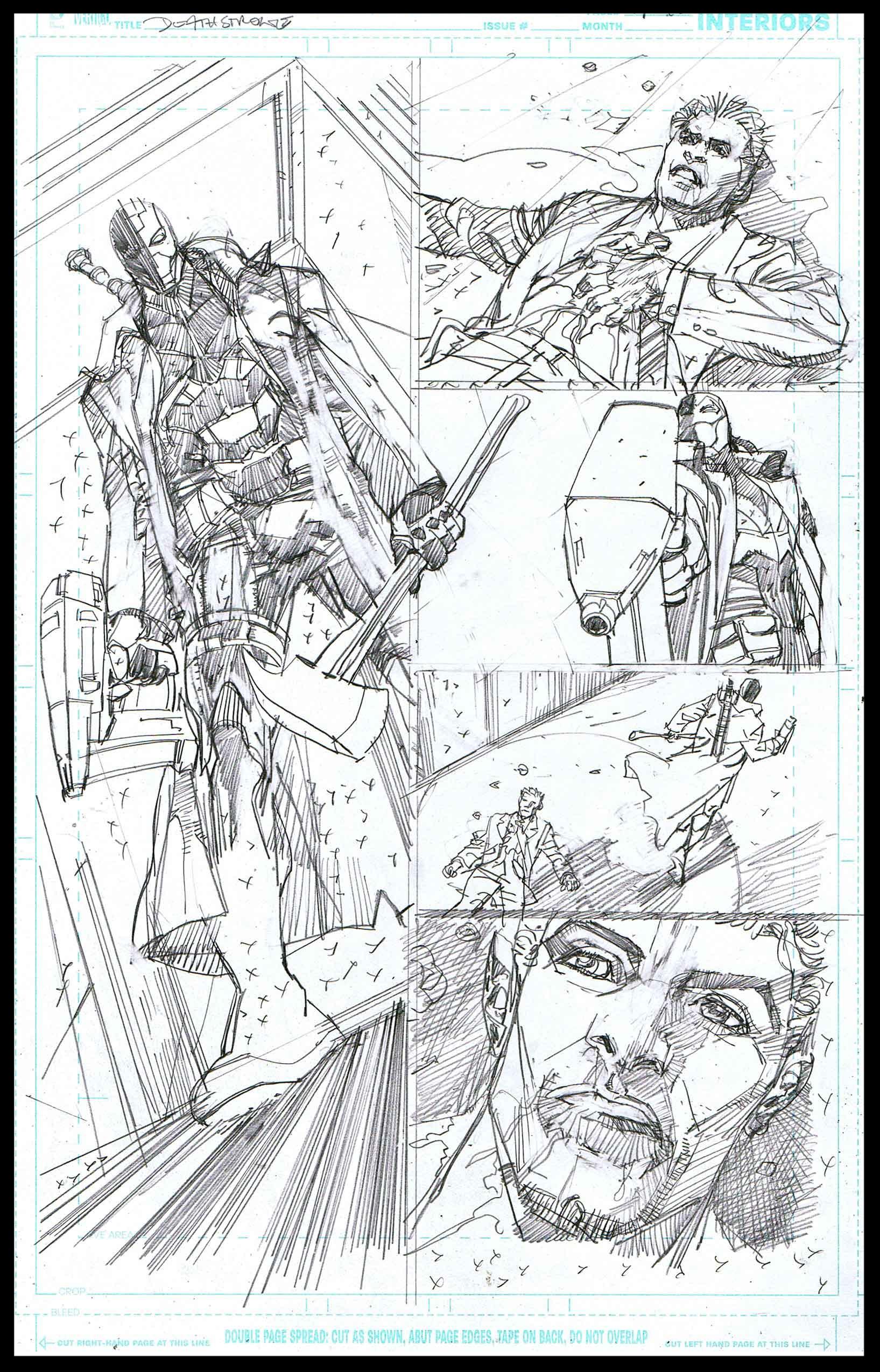 Deathstroke #11 - Page 14 - Pencils