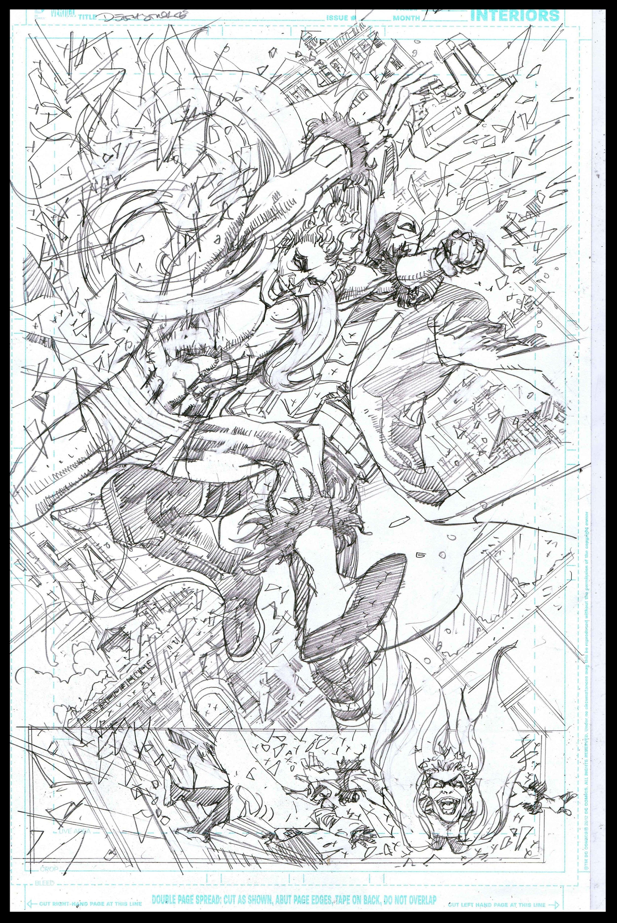 Deathstroke #11 - Page 16 - Pencils