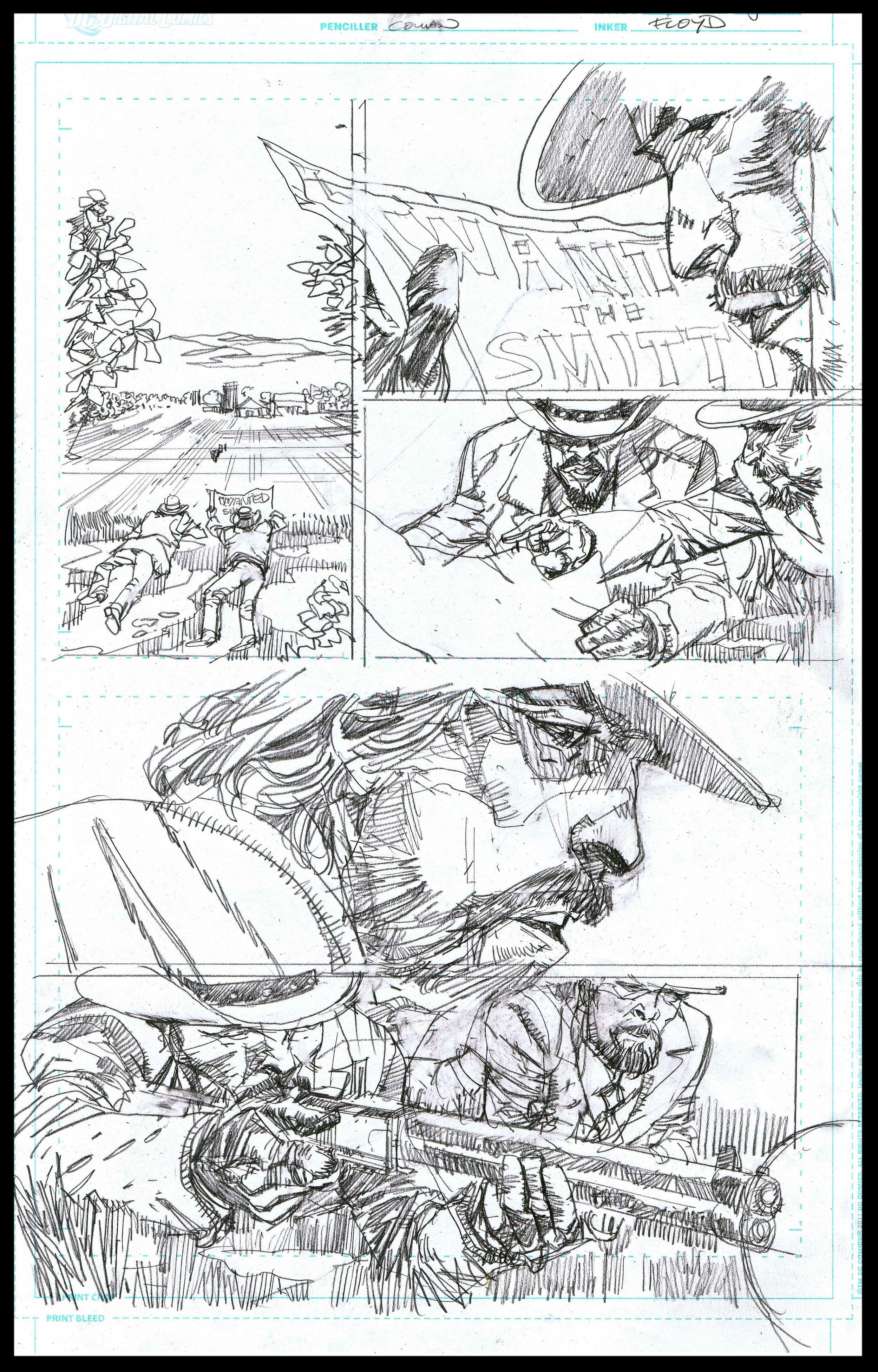 Django Unchained #3 - Page 5 - Pencils
