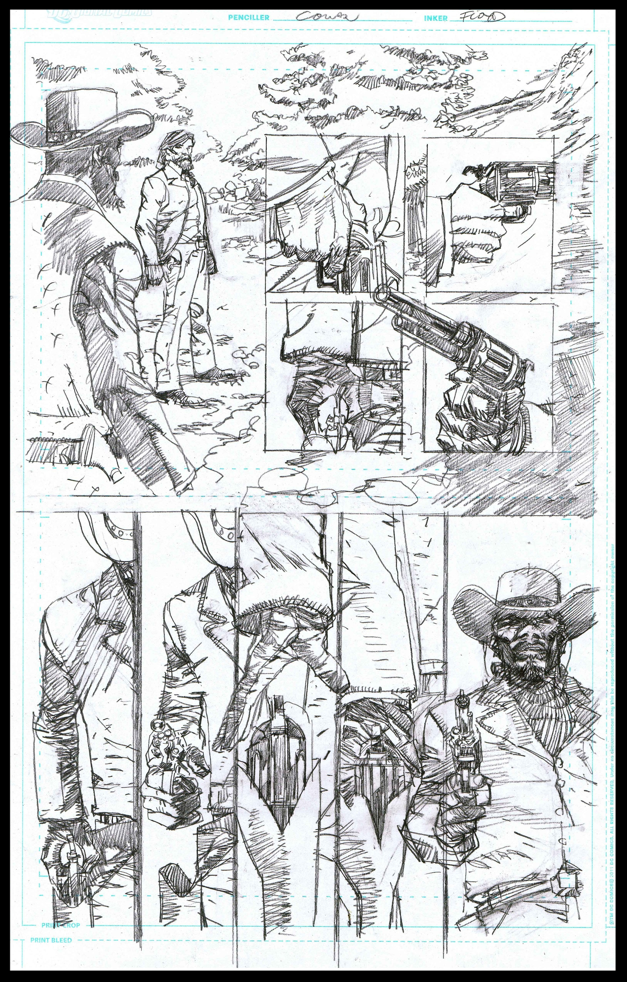 Django Unchained #3 - Page 7 - Pencils