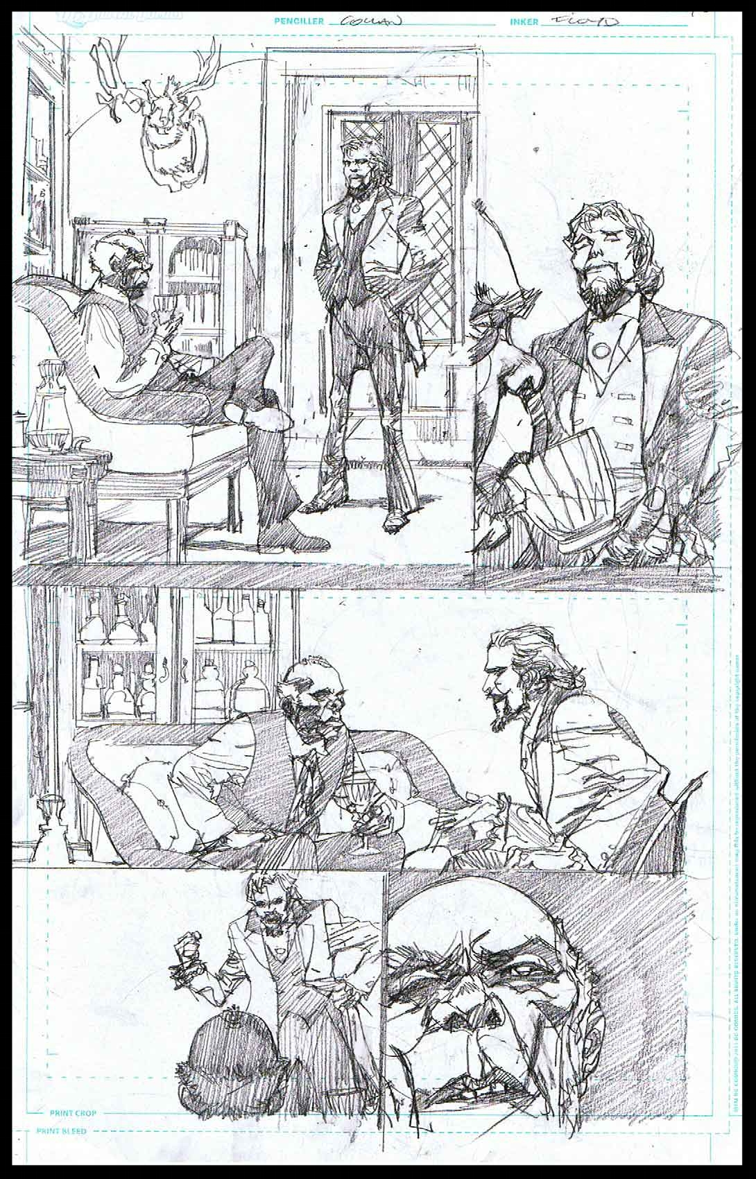Django Unchained #6 - Page 3 - Pencils