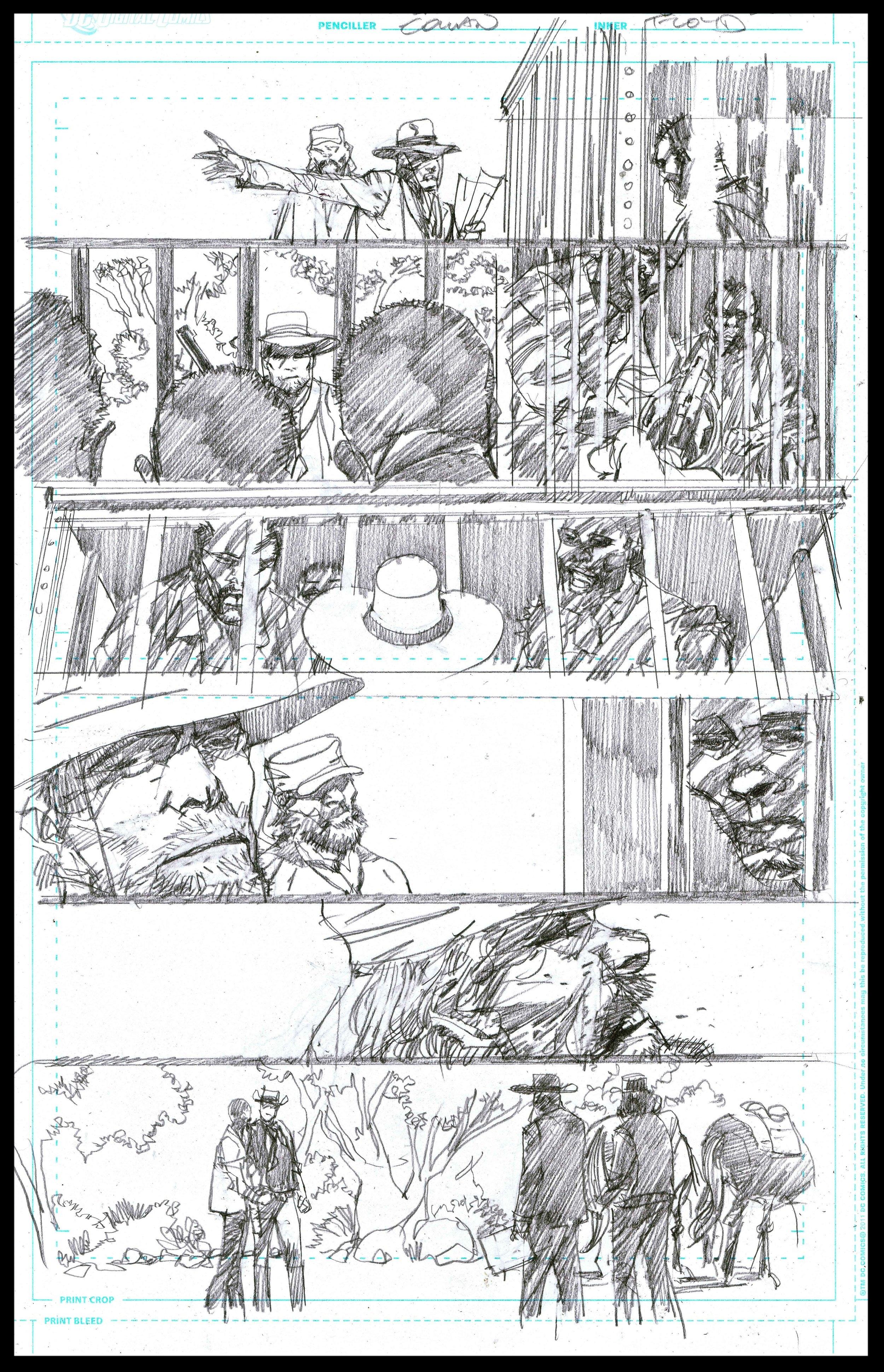 Django Unchained #6 - Page 38 - Pencils