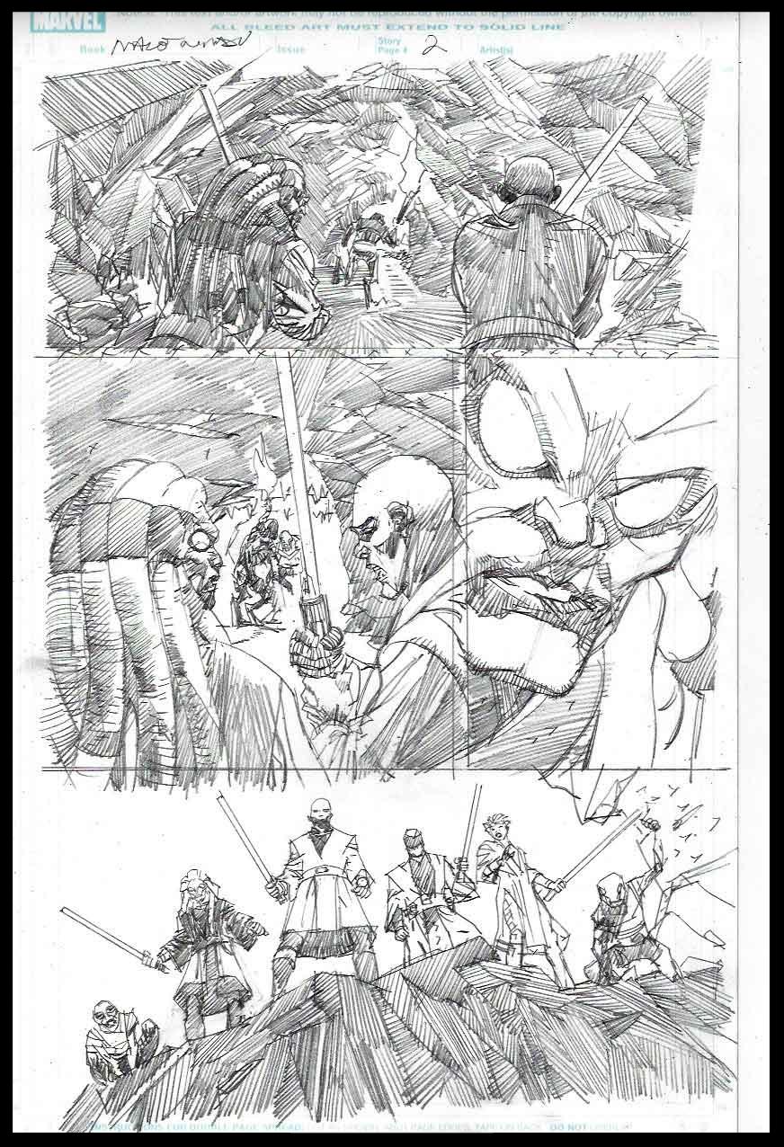 Mace Windu #2 - Page 2 - Pencils