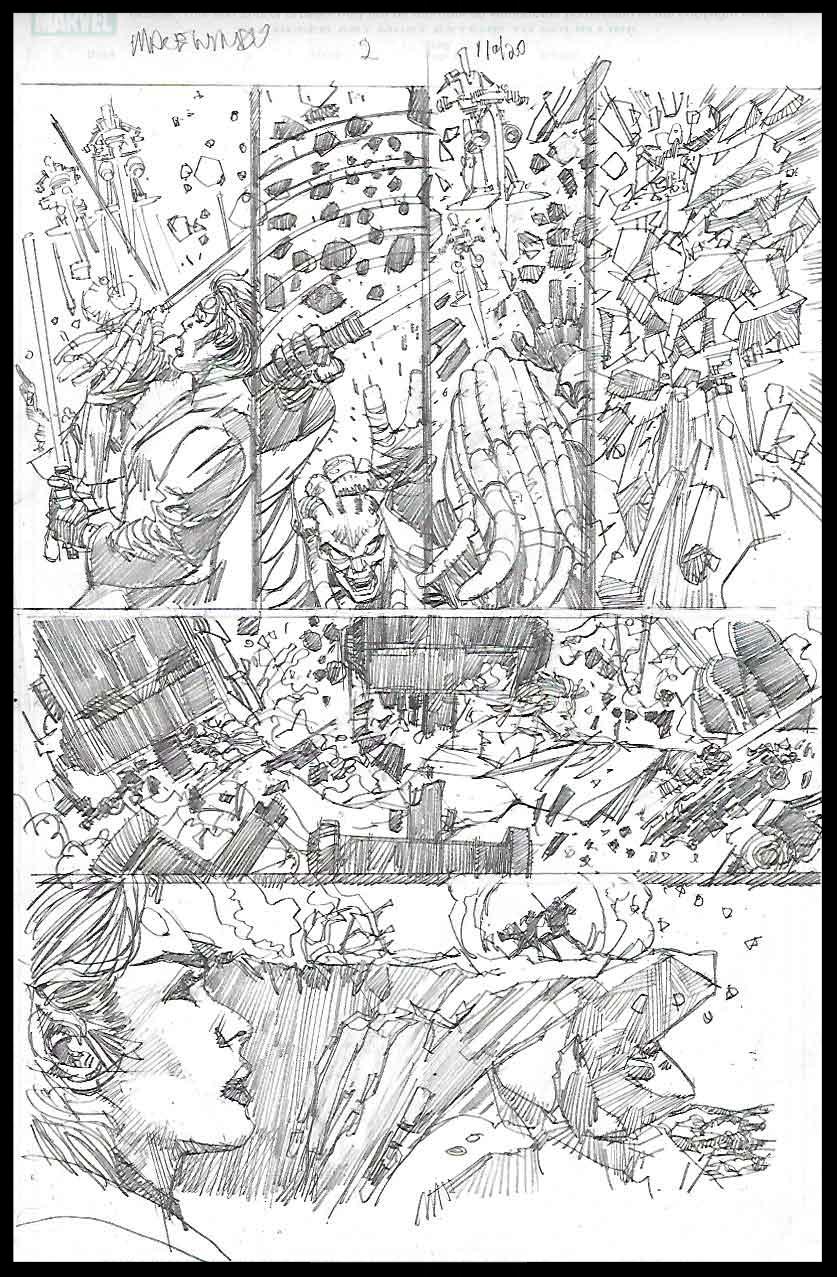 Mace Windu #2 - Page 11 - Pencils