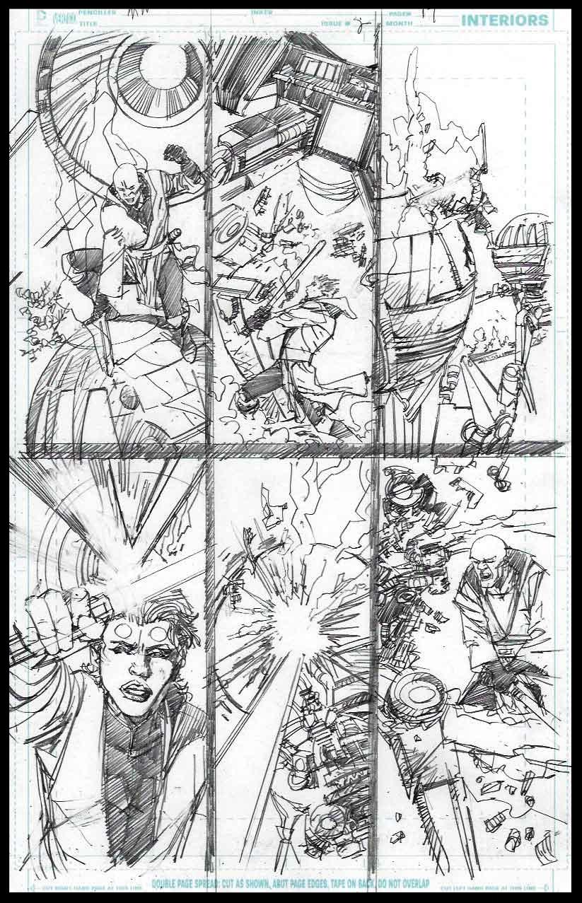 Mace Windu #2 - Page 17 - Pencils