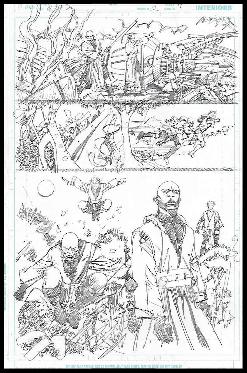 Mace Windu #2 - Page 19 - Pencils