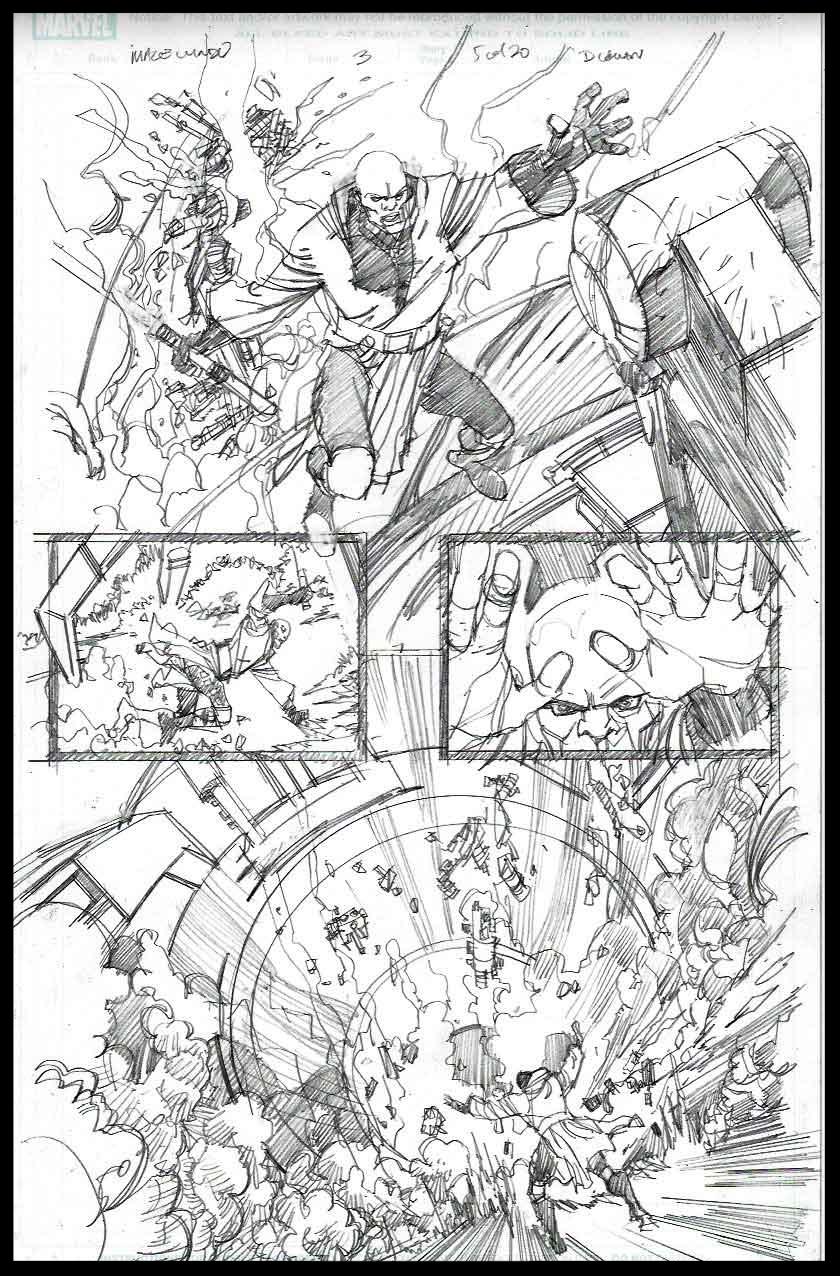 Mace Windu #3 - Page 5 - Pencils