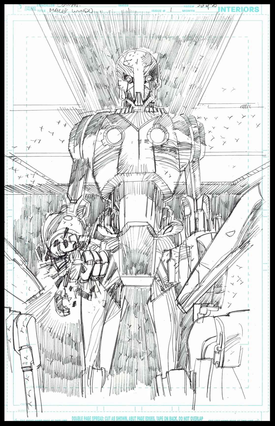 Mace Windu #1 - Page 20 - Pencils