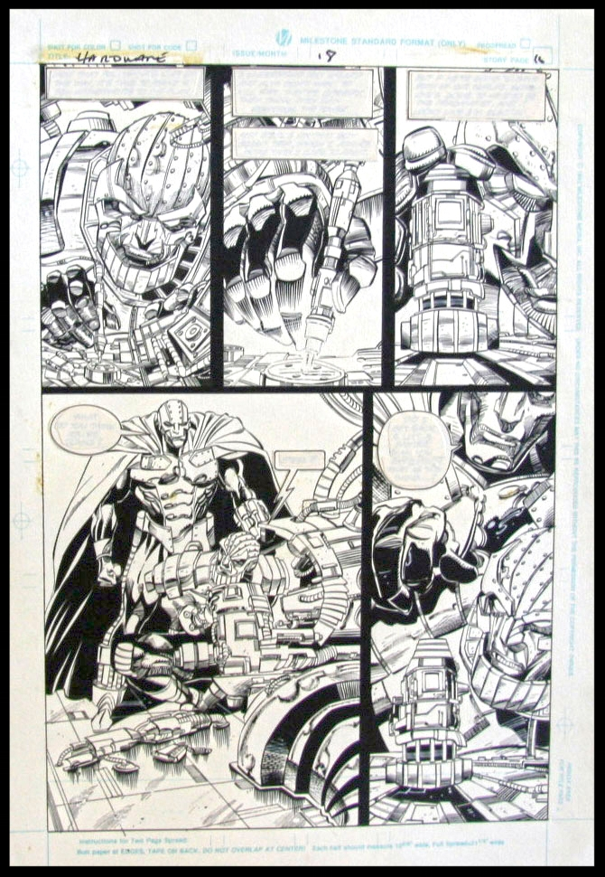 Hardware #18 - Page 16 - Pencils & Inks