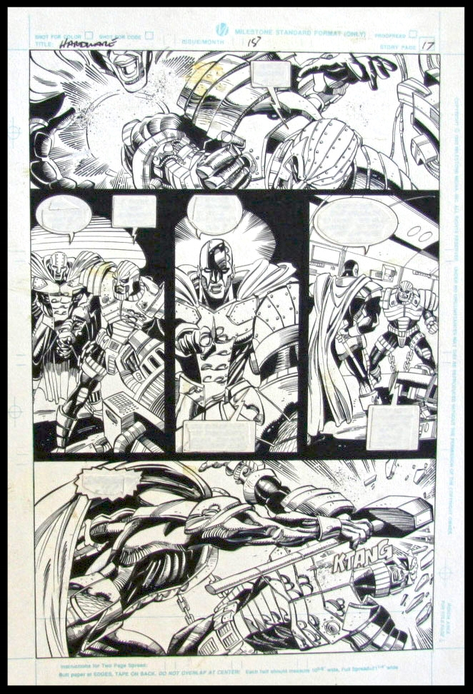 Hardware #18 - Page 17 - Pencils & Inks