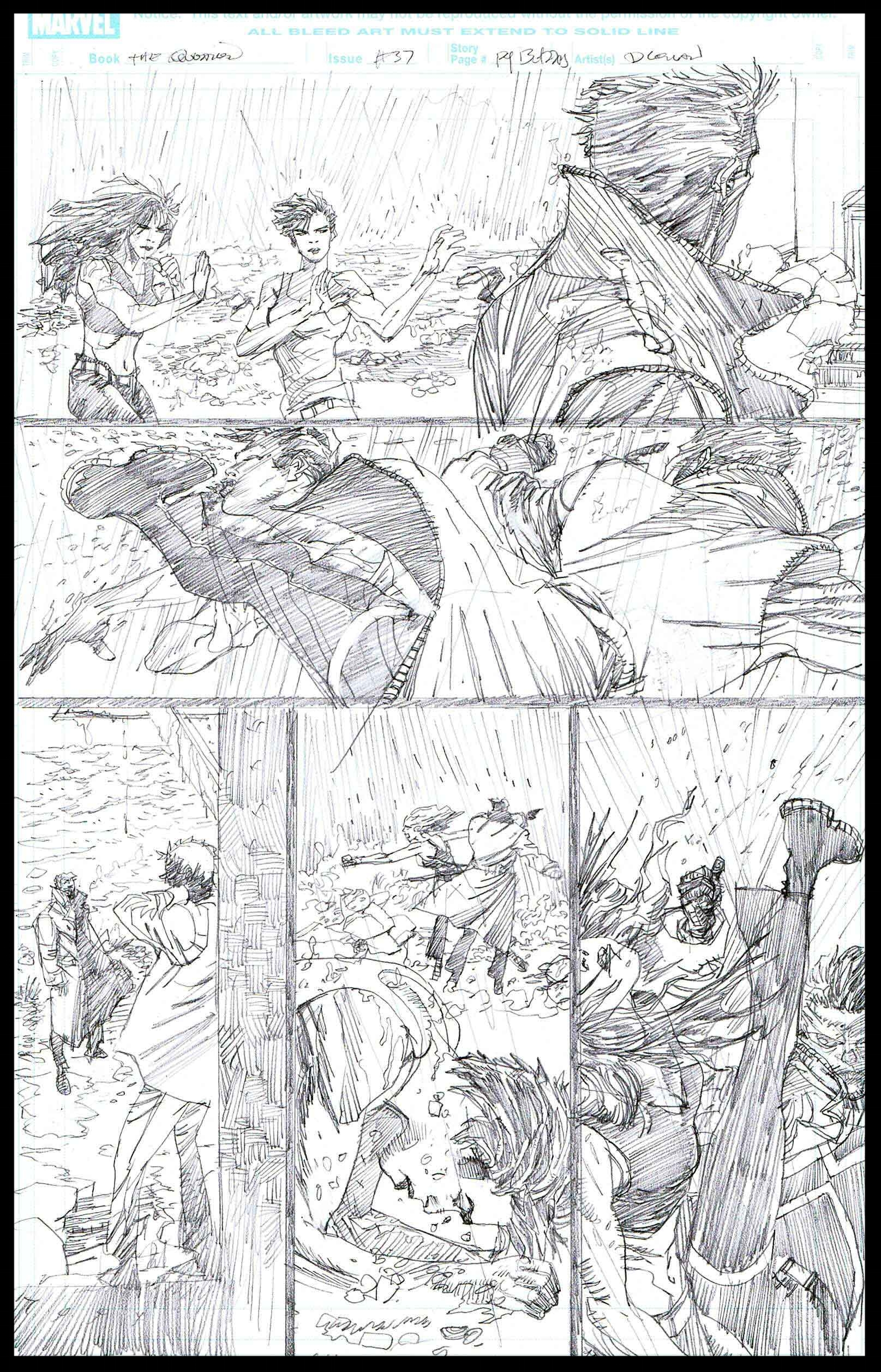 The Question #37 - Page 13 - Pencils