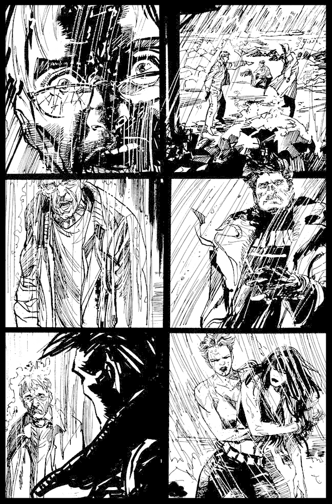 The Question #37 - Page 16 - Pencils & Inks