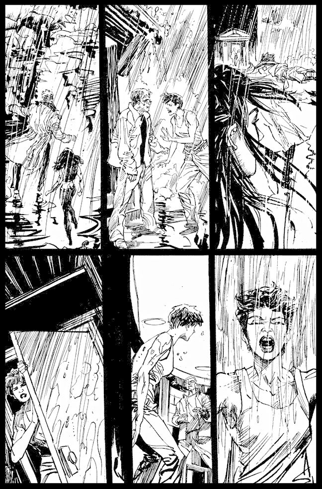 ThevQuestion #37 - Page 19 - Pencils & Inks