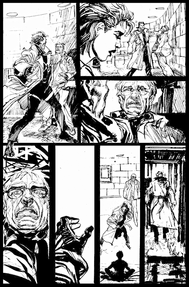 The Question #37 - Page 21 - Pencils & Inks