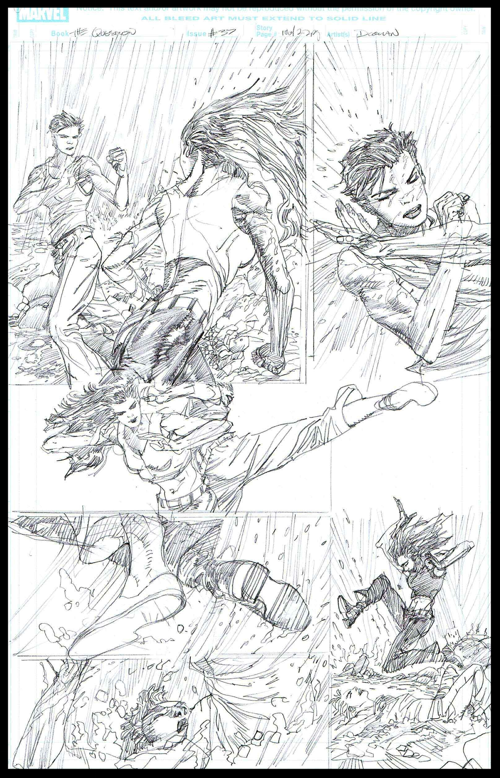 The Question #37 - Page 10 - Pencils