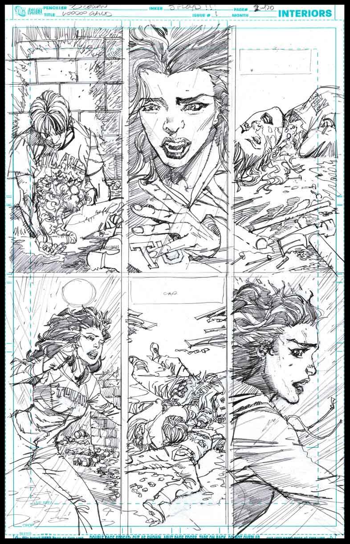 Voodoo Child #1 - Page 2 - Pencils