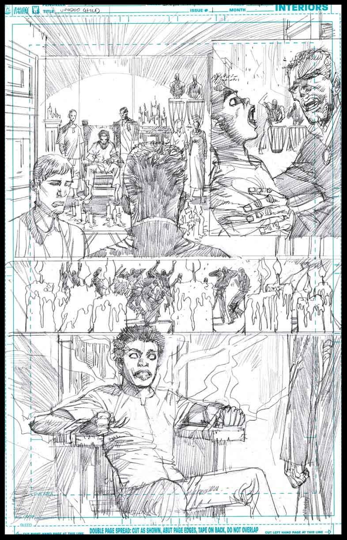 Voodoo Child #1 - Page 10 - Pencils