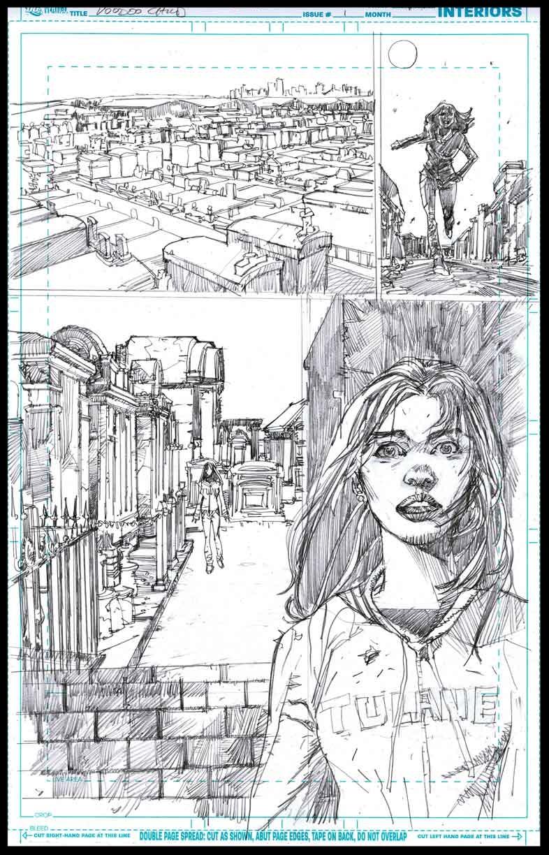 Voodoo Child #1 - Page 12 - Pencils