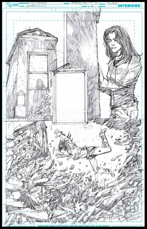 Voodoo Child #1 - Page 13 - Pencils