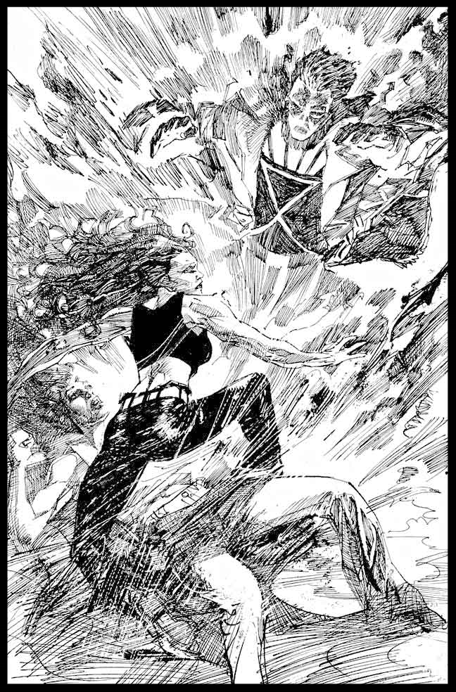 The Question #37 - Page 11 - Pencils & Inks
