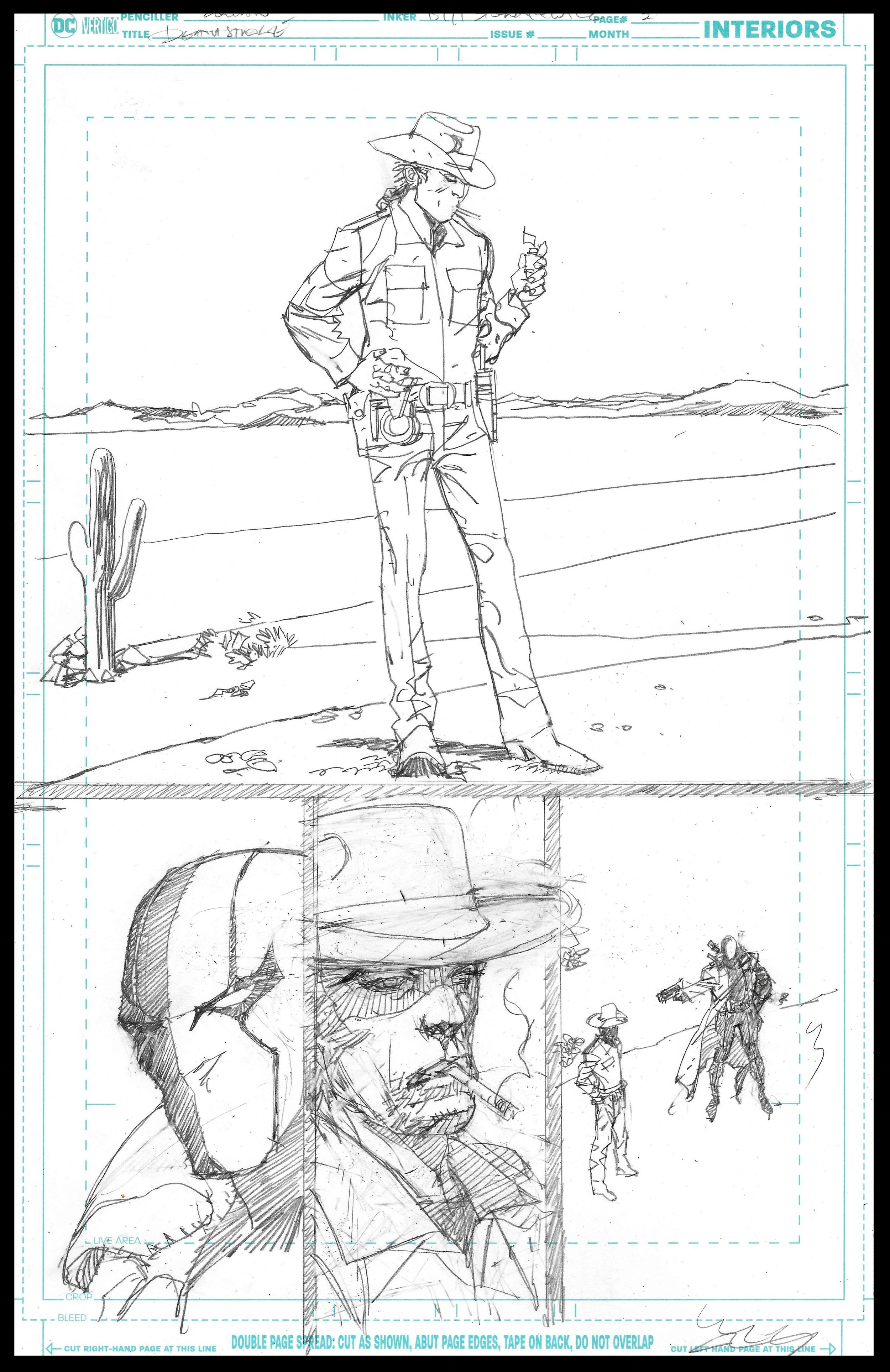 Deathstoke Annual - Page 2 - Pencils