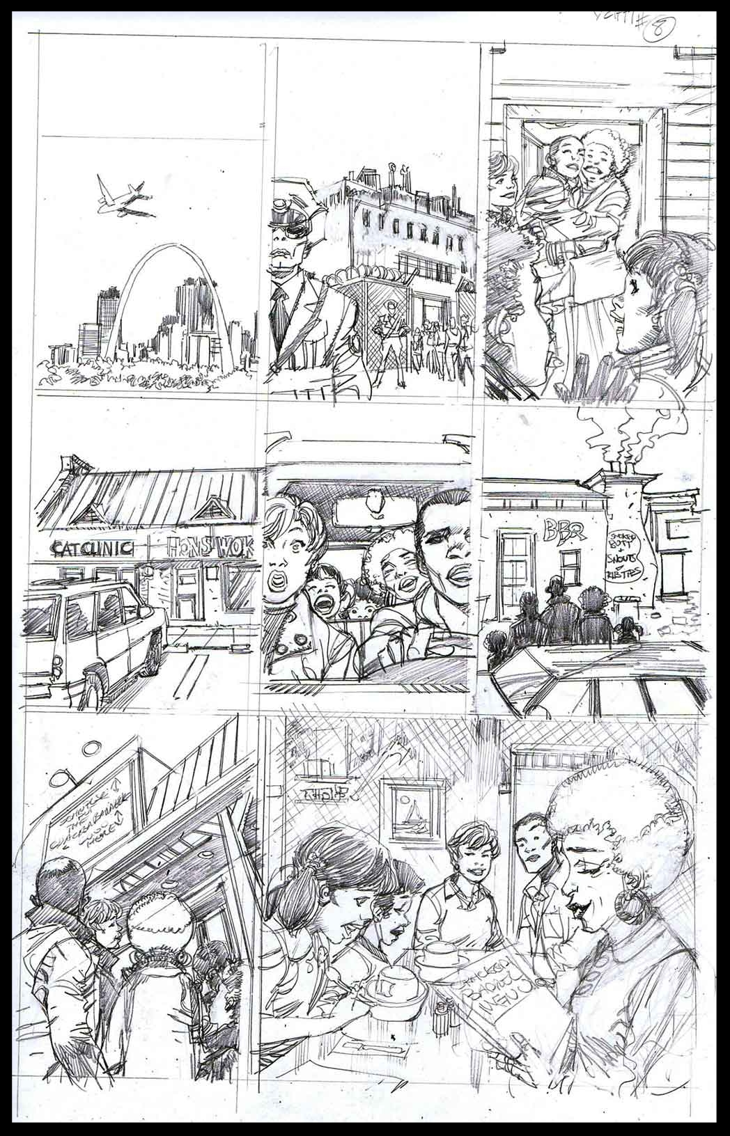 You Can't Handle The Truth #8 - Monthly Strip for Ebony - Pencils