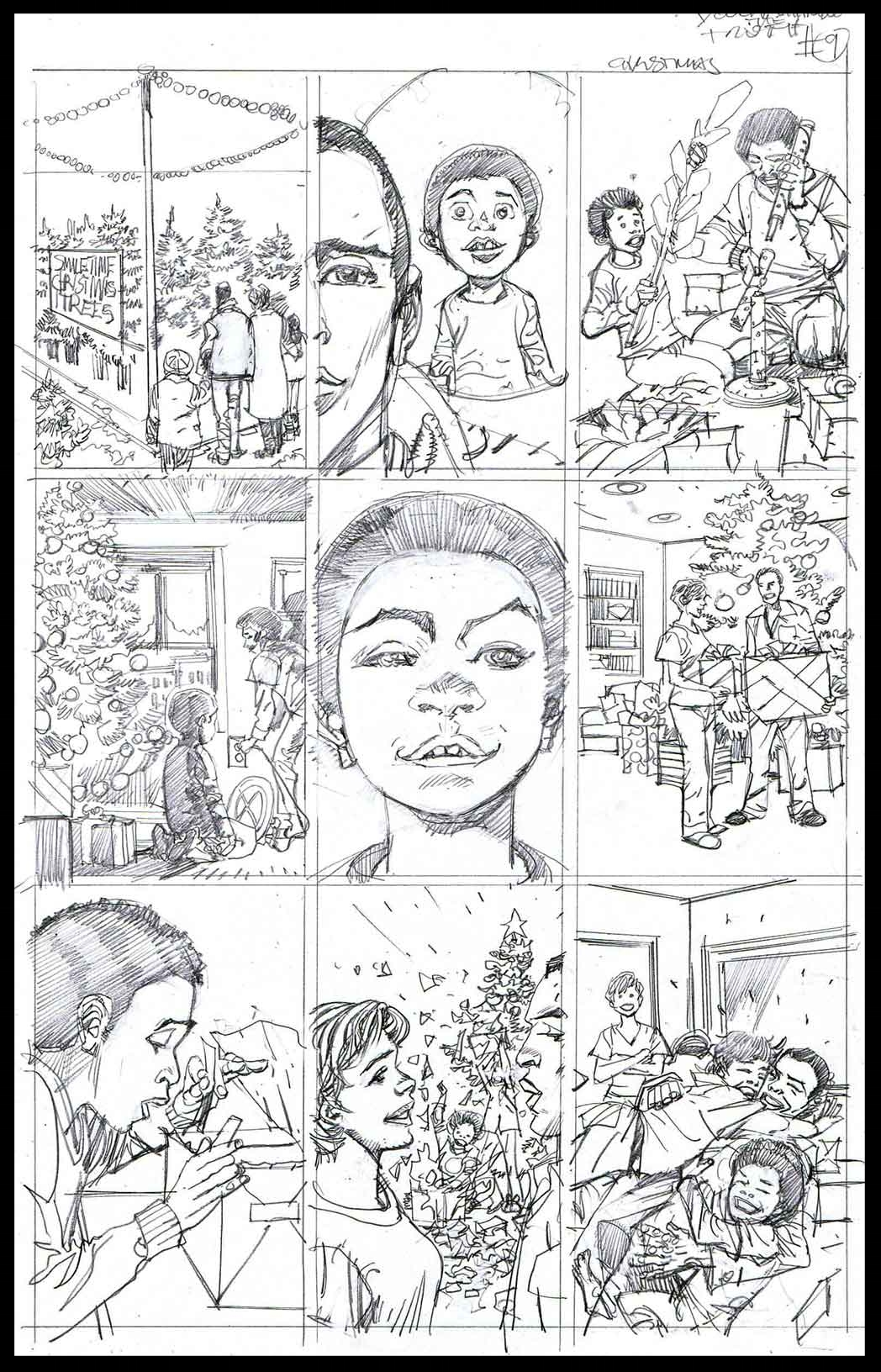 You Can't Handle The Truth #9 - Monthly Strip for Ebony - Pencils
