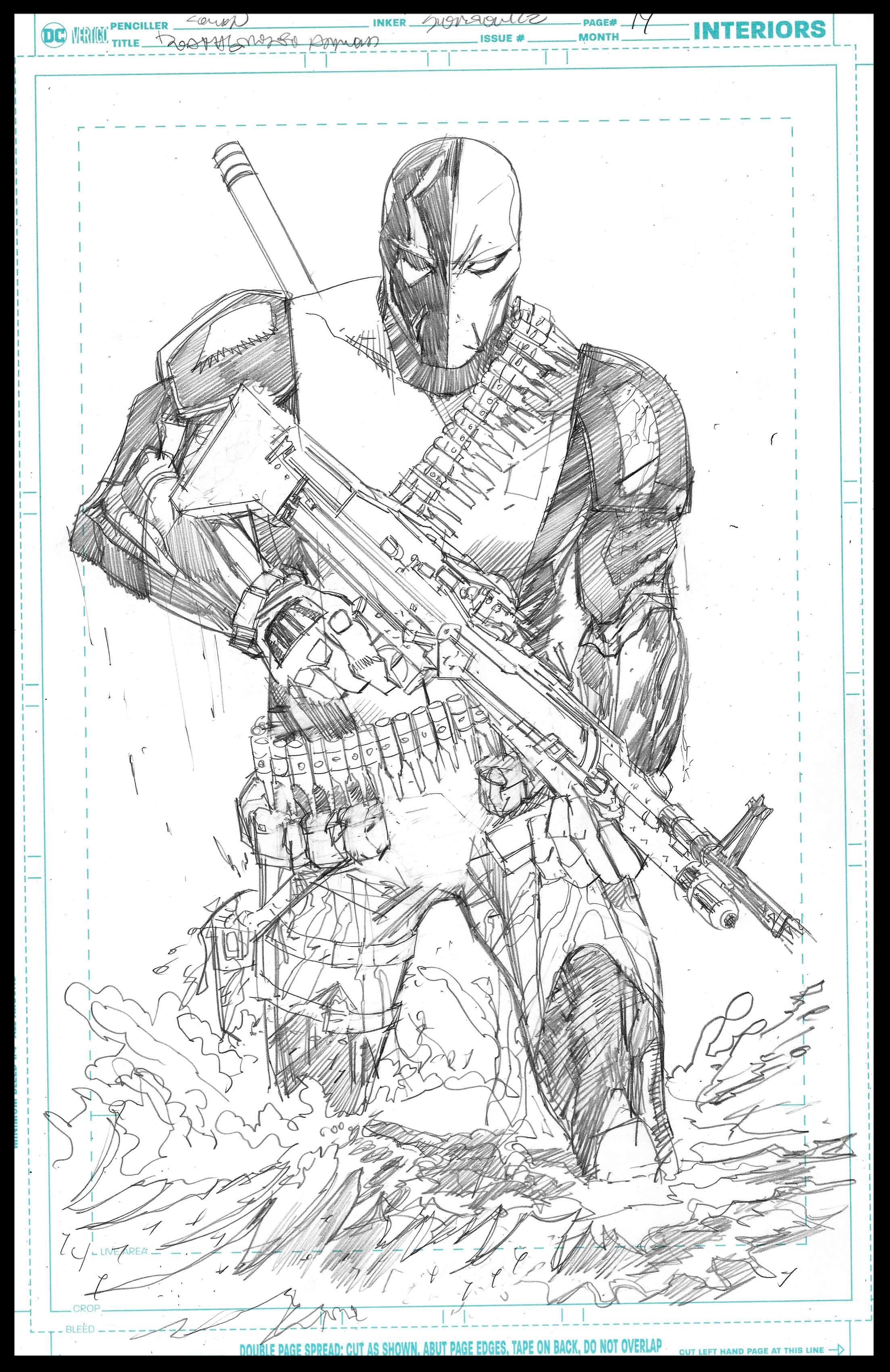 Deathstroke Annual - Page 14 - Pencils